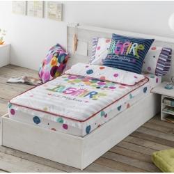 Saco nórdico juvenil cama 105 o 90 cm JOY esferas de colores