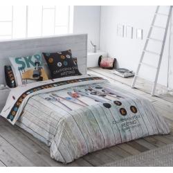 Funda nórdica juvenil SKATE de JVR para cama 1 o 2 plazas