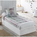 Edredón ajustable para literas o cama nido abatible GRAFIC algodón 200 hilos