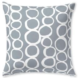 Funda de almohada 60x50 o 30x50 cm LESLIE esferas color malva
