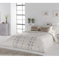 Fundas nórdicas cama de 2 plazas YARA rombos color desierto