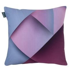 Funda para almohada cuadrada MOLLET en color fucsia