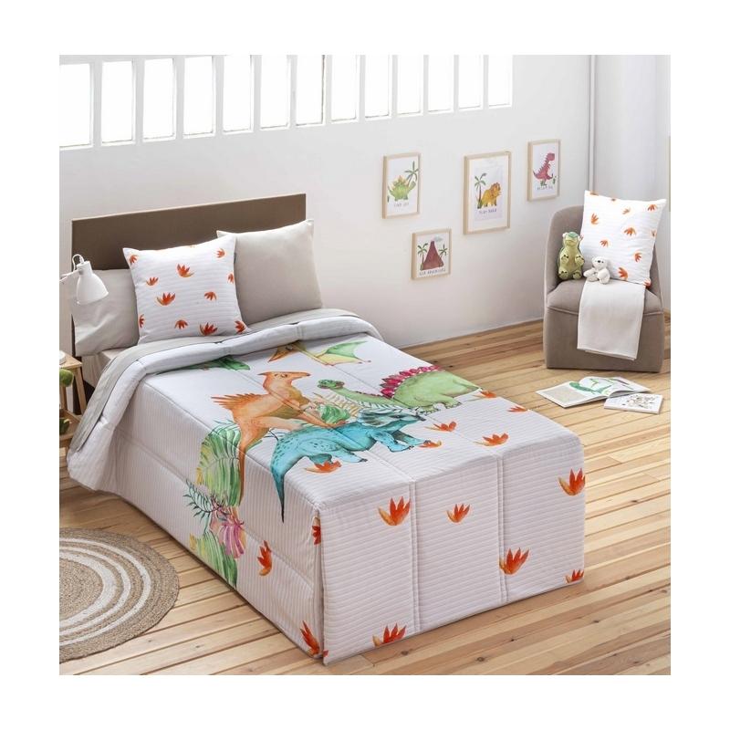 Edredón conforter infantil para cama 105 o 90 REX dibujo de dinosaurios