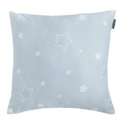 Funda de almohada 50x50 cm MAX estrellas sobre fondo azulado