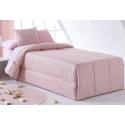 Edredón infantil de puntitos para cama 90 o 105 CONFETI color rosa