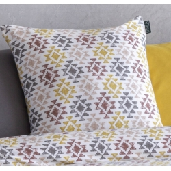 Funda decorativa para cojín de cama TOSSA algodón extra suave