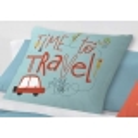 Almohada para cama infantil de niños TRAFFIC time to travel