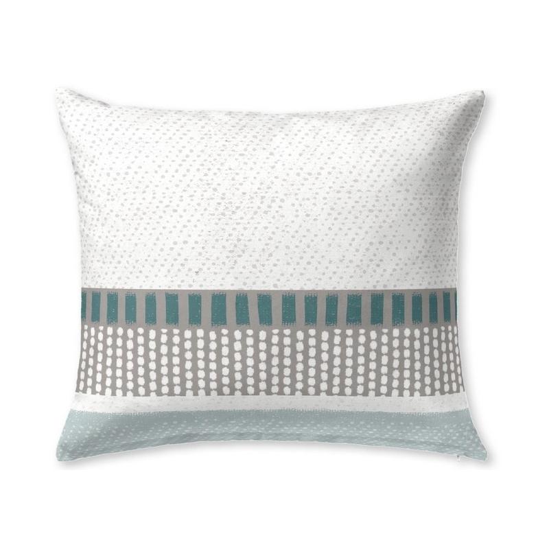 Funda de 60x50 cm para almohada de cama SILVER con relleno