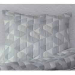 Funda de 50x50 cm para almoahada decorativa DARLING color gris