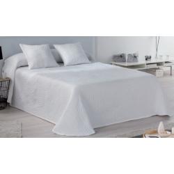 Colcha pañuelo de verano para cama LIDO color blanco