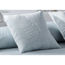 Funda ornamental para almohada de cama LIDO color turquesa