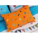 Almohada CIRCUS en color naranja