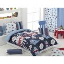 textil para cama serie Monsters color azul de marca Cañete